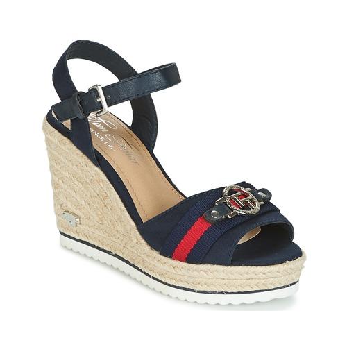 Chaussures Femme Sandales et Nu-pieds Tom Tailor CRYSTYA Marine