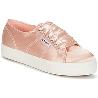 Chaussures Femme Baskets basses Superga 2730 SATIN W Rose