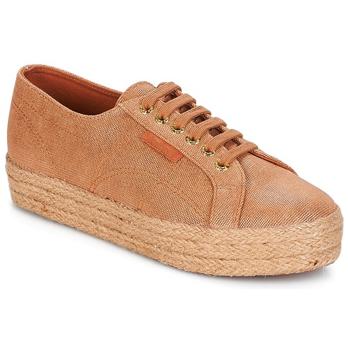 Superga 2730 LAME DEGRADE W Marron / Rose gold