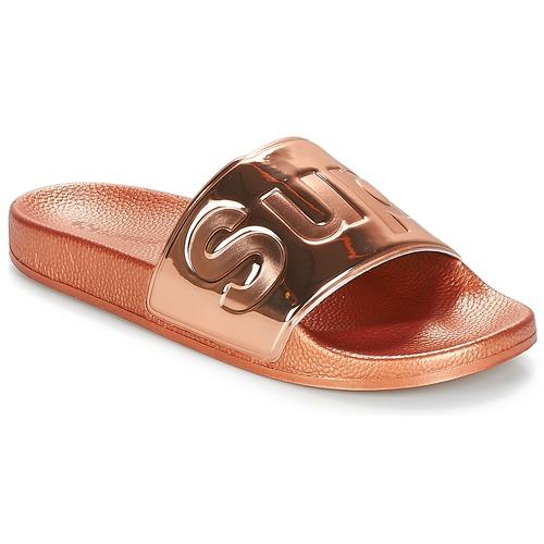 Chaussures Femme Claquettes Superga 1908 PUNE TU Rose gold