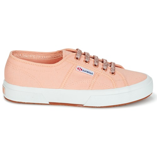 Superga 2750 CLASSIC SUPER GIRL EXCLUSIVE Pêche