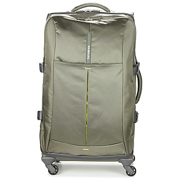 Sacs Valises Souples Samsonite 4MATION SPINNER 77 Kaki