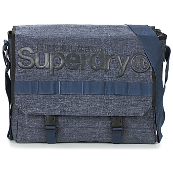 Sacs Besaces Superdry MERCHANT MESSENGER BAG Marine