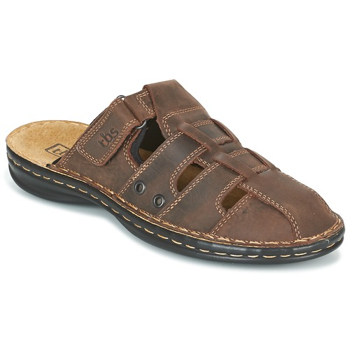 Chaussures Homme Mules TBS BASSOA Marron