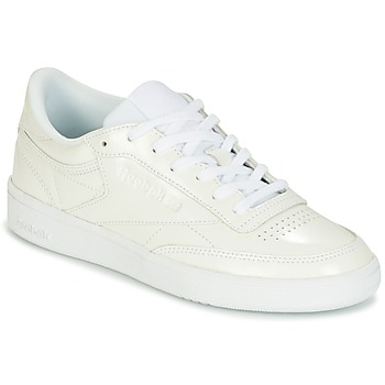 Chaussures Femme Baskets basses Reebok Classic CLUB C 85 PATENT Blanc