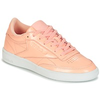 Chaussures Femme Baskets basses Reebok Classic CLUB C 85 PATENT Rose