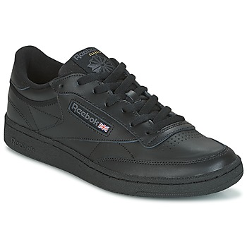 Chaussures Baskets basses Reebok Classic CLUB C 85 Noir