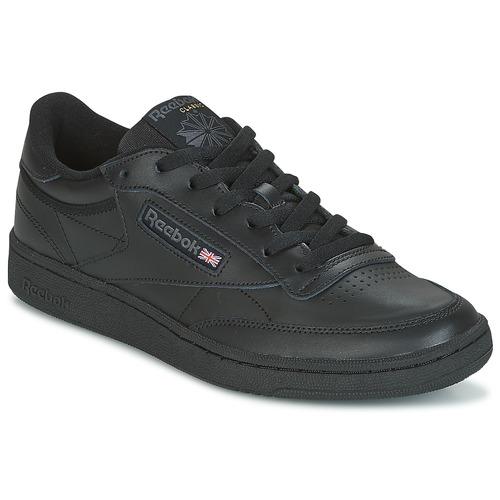 25adf10a75b Reebok Classic CLUB C 85 Noir - Chaussure pas cher avec Shoes.fr ...