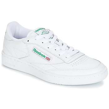 Chaussures Baskets basses Reebok Classic CLUB C 85 Blanc/ vert