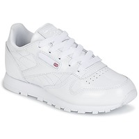 Chaussures Fille Baskets basses Reebok Classic CLASSIC LEATHER PATENT Blanc
