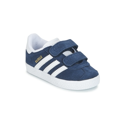Chaussures Enfant Baskets basses adidas Originals GAZELLE CF I Marine