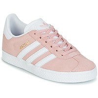 Chaussures Fille Baskets basses adidas Originals GAZELLE C Rose