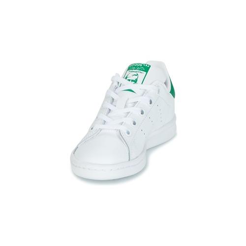adidas Originals STAN SMITH C Blanc / Vert