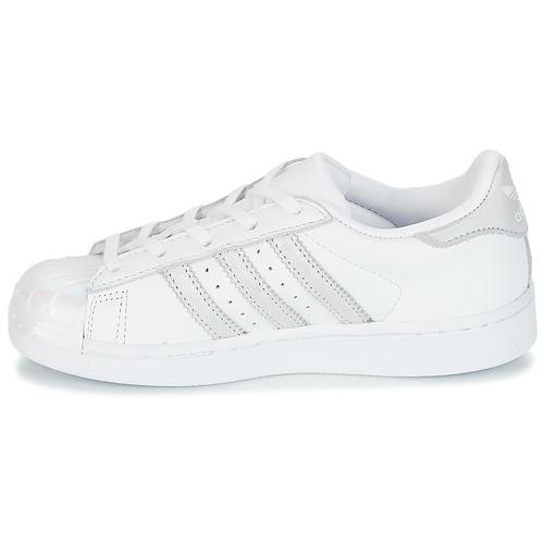 adidas Originals STAN SMITH C Blanc / Argenté