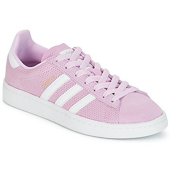 Chaussures Fille Baskets basses adidas Originals CAMPUS J Rose