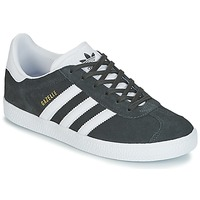 Chaussures Enfant Baskets basses adidas Originals GAZELLE J Gris