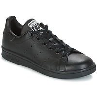 Chaussures Enfant Baskets basses adidas Originals STAN SMITH J Noir