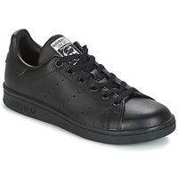 Chaussures Enfant Baskets basses adidas Originals STAN SMITH J Noir
