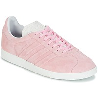 Chaussures Femme Baskets basses adidas Originals GAZELLE STITCH Rose