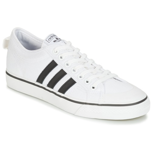 Chaussures Baskets basses adidas Originals NIZZA Blanc