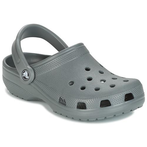 Chaussures Sabots Crocs CLASSIC Gris