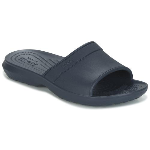 Chaussures Enfant Claquettes Crocs CLASSIC SLIDE K Marine