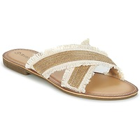 Chaussures Femme Mules Moony Mood IRTA Camel