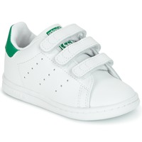 Chaussures Enfant Baskets basses adidas Originals STAN SMITH CF I Blanc / vert