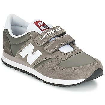 Chaussures Air max tnEnfant Baskets basses New Balance KE420 Gris / Noir