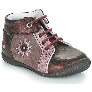Chaussures Fille Boots GBB RESTITUDE Marron