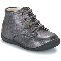 Chaussures Fille Boots GBB NAOMI Argenté