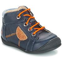 Chaussures Garçon Boots GBB RACINE Bleu marine