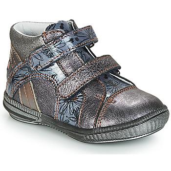 Chaussures Boots GBB ROXANE VNV GRIS BLEU-IMPRIME DPF/SABINA