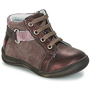 Chaussures Fille Boots GBB RICHARDINE Marron / Bronze