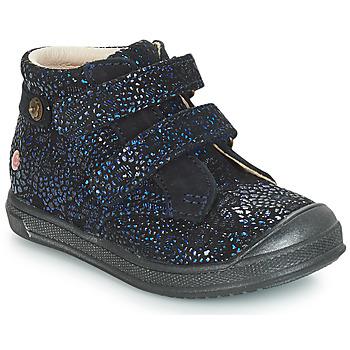 Chaussures Fille Boots GBB RACHEL Bleu marine