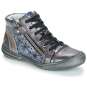 Chaussures Fille Sacs Bandoulière GBB RACHIDA Gris / Bleu
