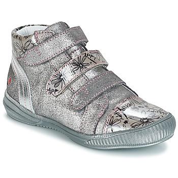 Chaussures Fille Boots GBB RAFAELE Argenté