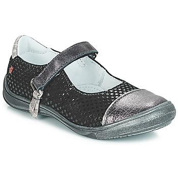 Chaussures Fille Sacs Bandoulière GBB RIKA Noir / Argenté