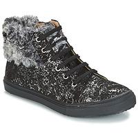 Chaussures Fille Baskets montantes GBB ROBERTA Noir