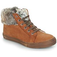 Chaussures Fille Boots GBB ROBERTA VTS FAUVE DCH/BASKET