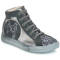 Chaussures Fille Baskets montantes GBB MARTA Gris