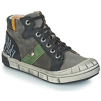 Chaussures Garçon Baskets montantes GBB RENZO Gris