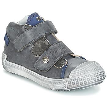 Chaussures Garçon Boots GBB ROMULUS VTU GRIS-BLEU DPF/TERRORE