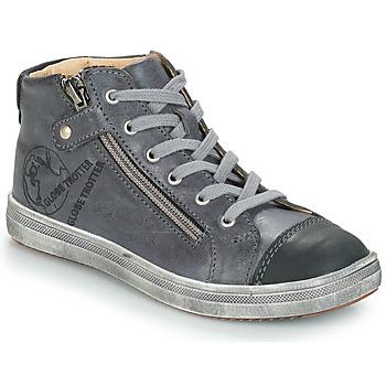 Chaussures Garçon Baskets montantes GBB NICO Gris