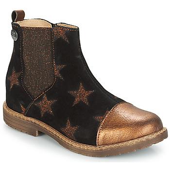 Chaussures Fille Sacs Bandoulière GBB LEONTINA Noir / Cuivre