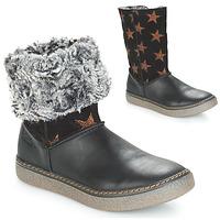 Chaussures Fille Bottes ville Achile DUBROVNIK Noir