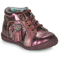 Chaussures Fille Boots Catimini RAINETTE VTE BORDO DPF/GLUCK