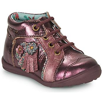 Chaussures Fille Boots Catimini RAINETTE Bordeaux
