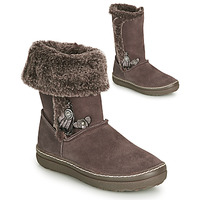 Chaussures Fille Bottes ville Catimini ROMA Marron