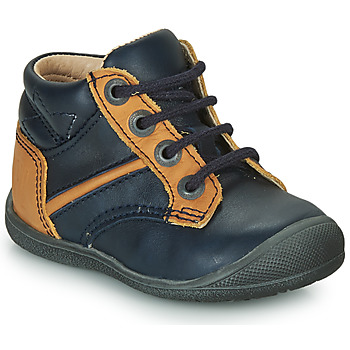 Chaussures Garçon Boots Catimini RATON Marine / Ocre